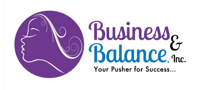 Business & Balance – Logo